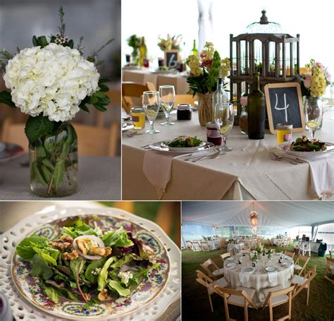 Backyard Wedding Catering by Outdoor Wedding Catering Tablescapes And Jar
