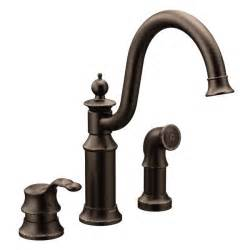 Moen Kitchen Faucets Oil Rubbed Bronze by Waterhill Oil Rubbed Bronze One Handle High Arc Kitchen