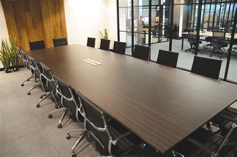 room and board tables boardroom tables page 1 office fitouts melbourne