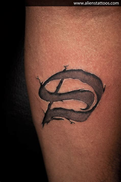tattoo d ambigram tattoo d and s inked by sunny at aliens tattoo
