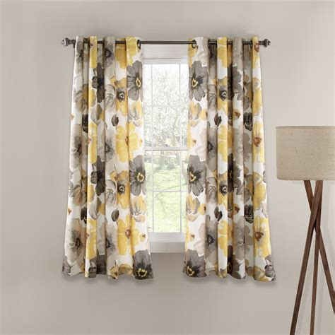 Yellow And Gray Kitchen Curtains Kitchen Extraordinary Yellow And Gray Kitchen Curtains Yellow Gray Drapes Yellow Kitchen