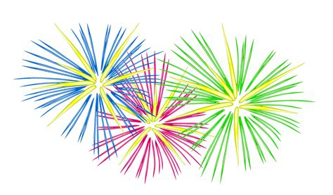 new year firecrackers vector bonfire clipart new year firework pencil and in color