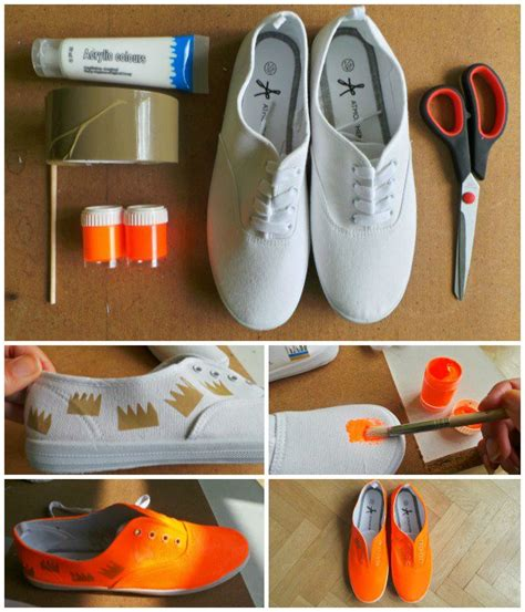 diy white shoes diy fashion 15 diy shoes design ideas styles weekly