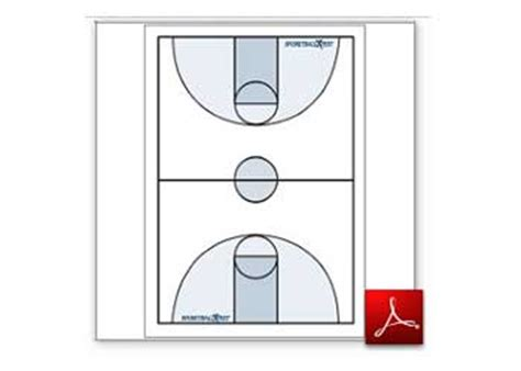 Basketball Play Drawer by Printable Soccer Field Layout Clipart Best