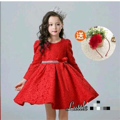 Dress Bebe Merah by Model Baju Dress Pesta Anak Perempuan Warna Merah Terbaru