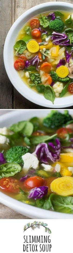 Detox Slimming Soup Recipe by Slimming Detox Soup Health No One Site
