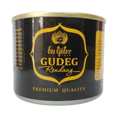 Gudeg Kaleng Bu Tjitro 210 Gram jual rekomendasi seller gudeg kaleng bu tjitro rendang makanan kaleng 210 g harga