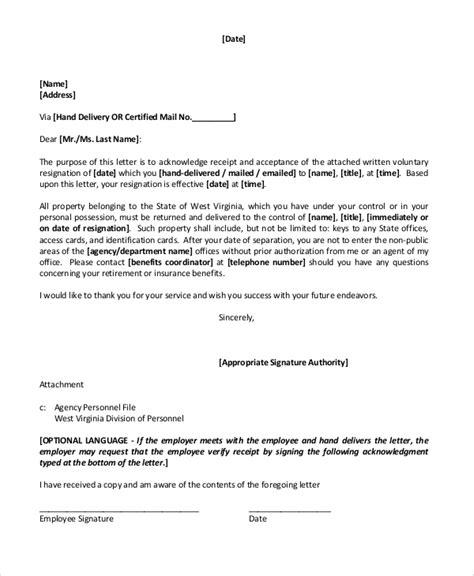 sample retirement resignation letter templates