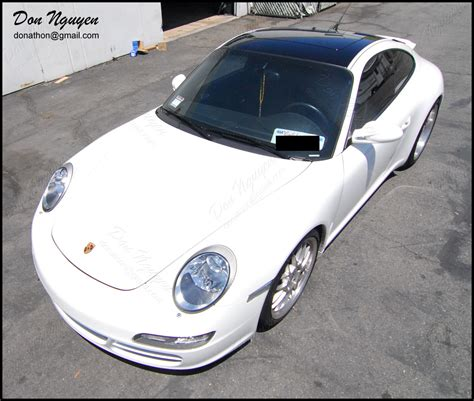 vinyl porsche don nguyen vinyl roof wrapping tail light tinting