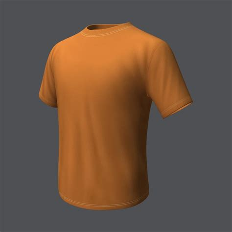 Tshirt 3d 3d model t shirt product