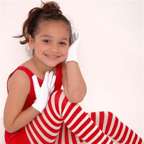 young little girls socks childrens red and white striped tights