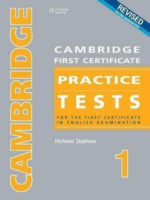 cambridge first certificate practice tests 1 nicholas stephens 9789604032815
