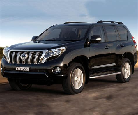 Toyota Prado Worldwide Model Of Toyota Prado Receive Minor Changes For 2017