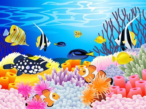 Coral Reef Clipart best coral reef clipart 15989 clipartion