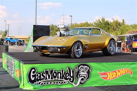 Wheels Hotwheels 67 Corvette Stingray Gas Monkey holley and weiand help power gas monkey garage wheels corvette holley