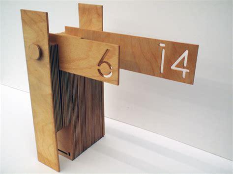 Calendar Wooden Desktop Wooden Calendars By Qaaim Goodwin Donald Verger