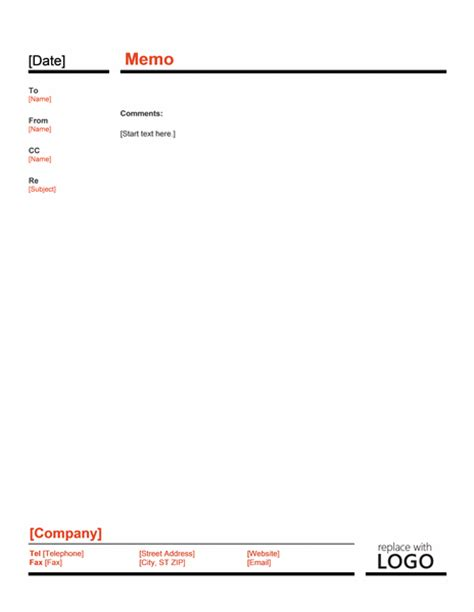 interoffice memo template microsoft word templates