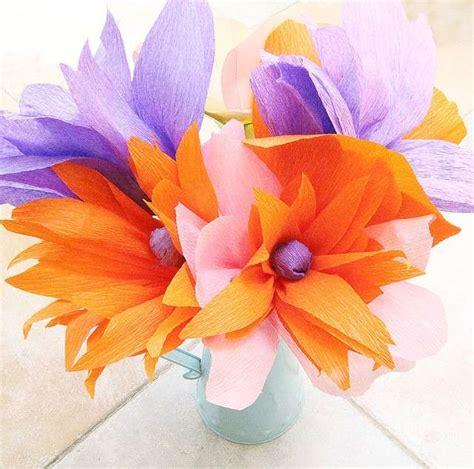 foto fiori coloratissimi festa della mamma lavoretti di carta foto mamma pourfemme