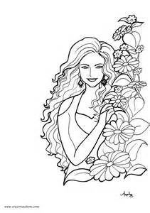 beautiful gothic woman coloring pages coloring pages