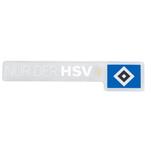 Auto Aufkleber Hsv by Hsv Aufkleber Nur Der Hsv 3d Hsv Logo Hamburger Sv