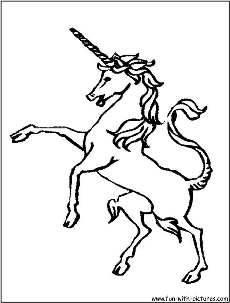 detailed unicorn coloring page free detailed unicorn coloring pages
