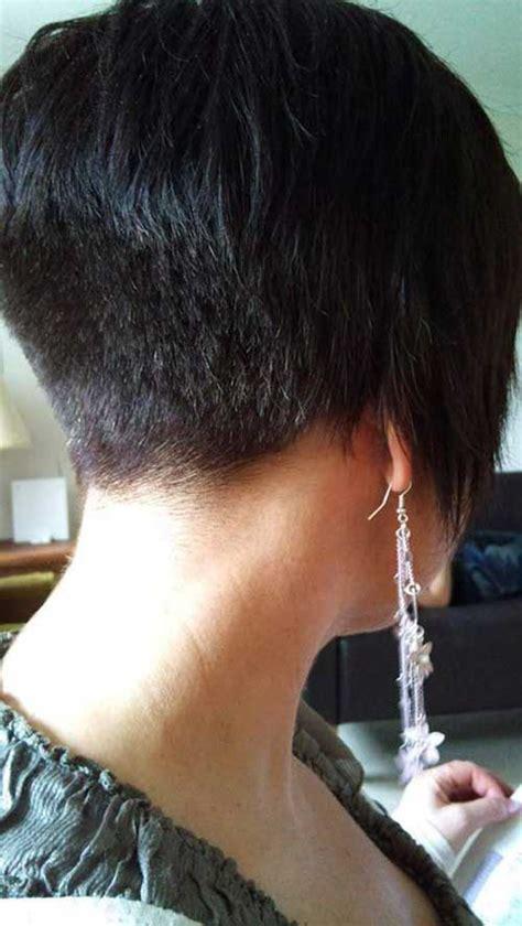 short layered hairstyles with short at nape of neck 15 cool shaved nape bob haircuts bob hairstyles 2017