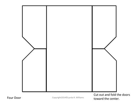 foldable booklet template teaching science with lynda best folds for interactive