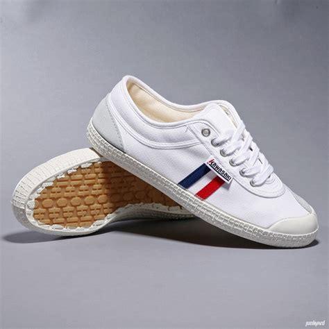 Kawasaki Shoes by Kawasaki Shoes White Blue Stripe Kawasaki