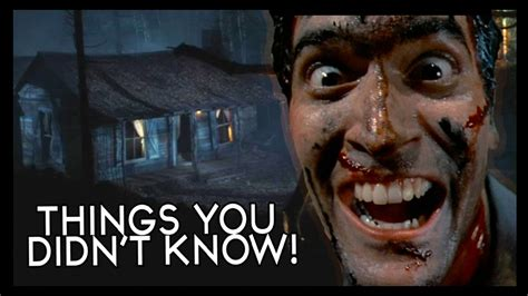 kisah nyata film evil dead 7 things you probably didn t know about the evil dead