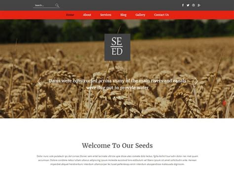 free bootstrap templates for agriculture 10 best free agriculture bootstrap templates in may 2016
