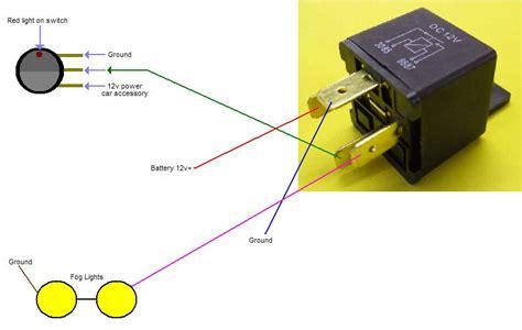 fog light wiring diagram  relay repair boat wiring