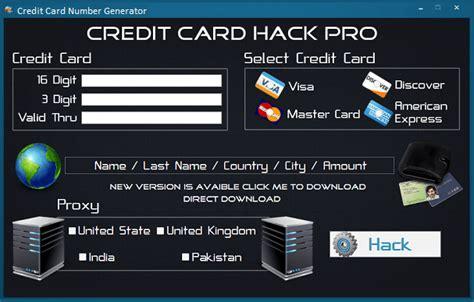 Credit Card Security Code Generator Template Credit Card Number Generator Www Gameactivatekeys