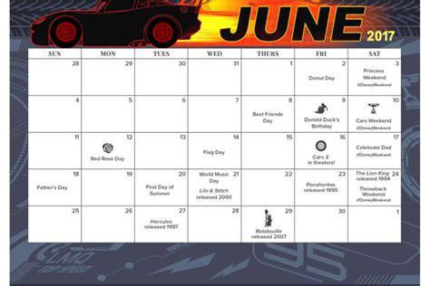 Disney Planning Calendar