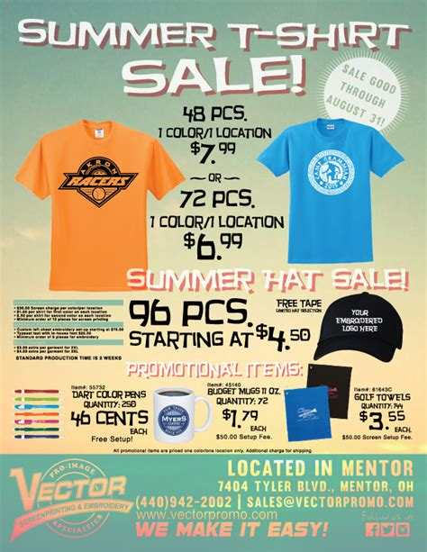 summer t shirt sale flyer 2015 01 david coffield