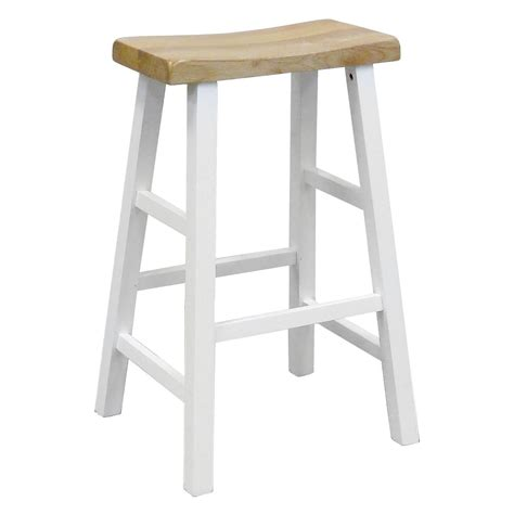 White Saddle Seat Bar Stools by Dazzling White Saddle Bar Stools 3 124087001 Jpg Sw 1268
