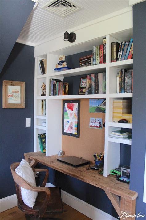 Boys Desk Ideas by Orc Boy S Built In Bedroom Week 1 Lehman