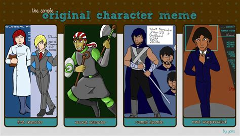 Original Character Meme - original character meme by parzifalsjudgment on deviantart