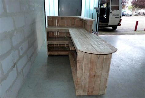how to build a bar top counter custom build pallet bar pallet furniture plans