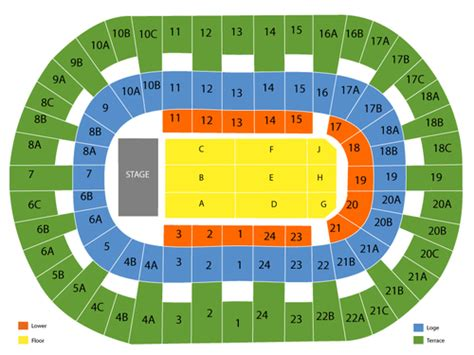 layout of valley view casino center valley view casino center seating chart and tickets