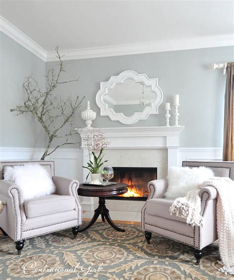 paint colors for living rooms with white trim kates winter living room