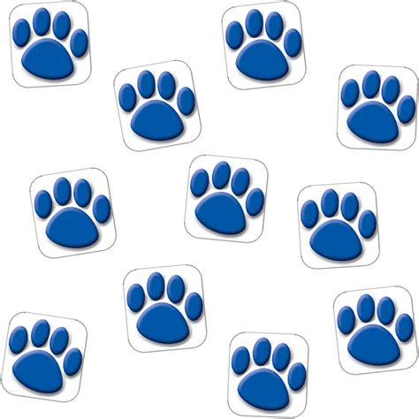 tiger paw print stencil   clip art