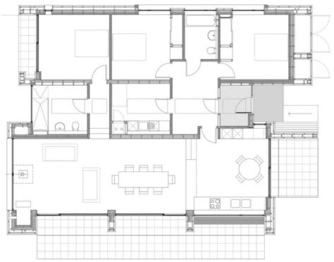 How To Get Floor Plans Of A House tigh port na modern house design by dualchas architects