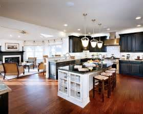 open concept kitchen ideas curved granite on island spaces open concept kitchen