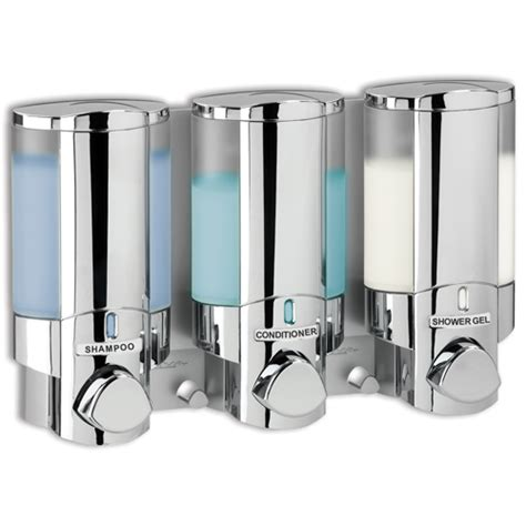 soap dispensers for bathrooms aviva soap and shower dispenser iii hand soap dispenser
