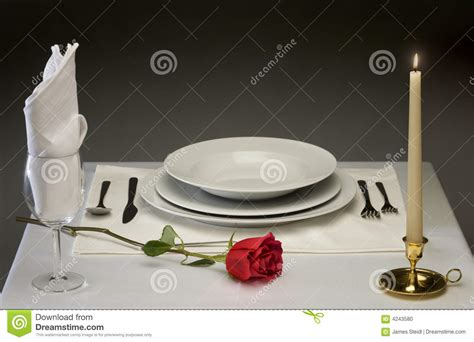 fine dining table setting fine dining stock photo image 4243580