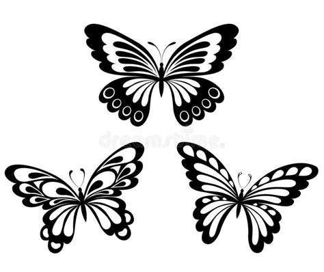 imagenes de mariposas blancas y negras mariposas blancas negras determinadas de un tatuaje