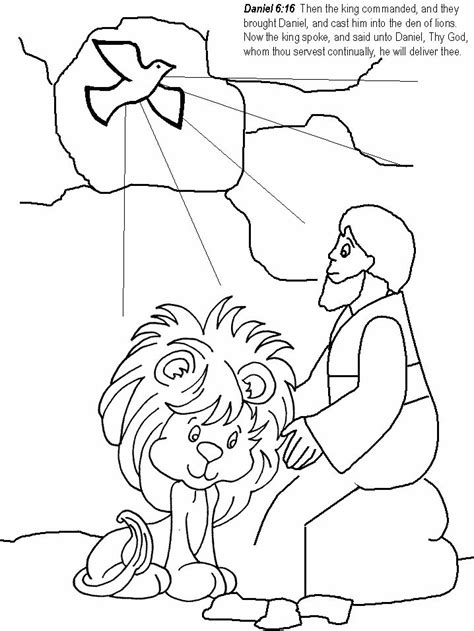 Daniel 3 Coloring Page by Daniel In The S Den Coloring Page Part 2 Free