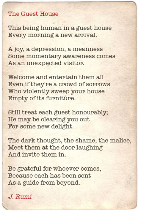 the guest house poem the guest house poem 28 images 25 best ideas about radical acceptance on