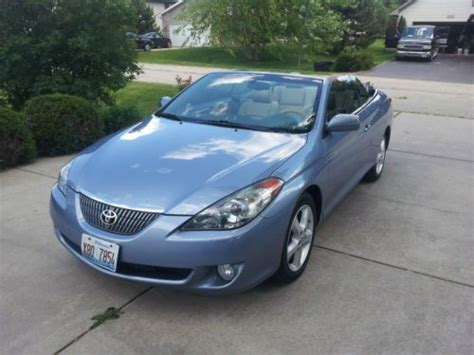 Toyota Sle Road Find Used 2005 Toyota Solara Sle Convertible 2 Door 3 3l