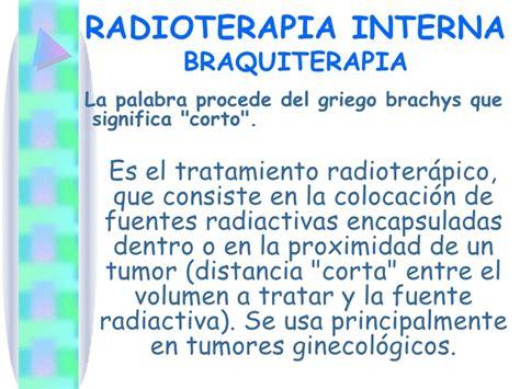 radioterapia interna radioterapia seminario 2011